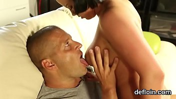 throat-watering nubile opens up pinkish coochie and gets deflorated