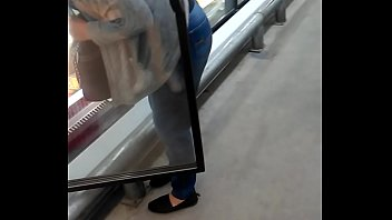cougar fat culo ambles around store