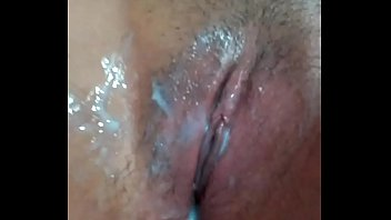 pinay cream-colored ejaculation