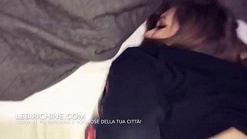 ragazza italiana 18enne prova il sesso anale per.