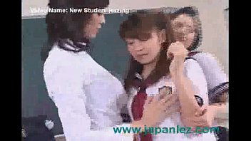a fresh student gets hazed by schoolteacher and.
