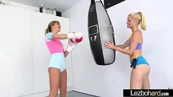 fucky-fucky on webcam inbetween nice ultra-cute lesbo women.