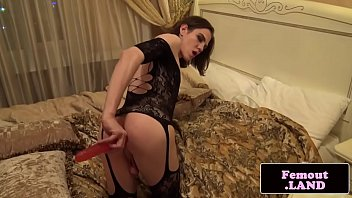 solo femboy opens up and playthings.