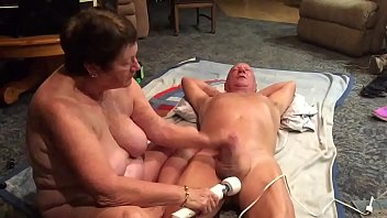 wifey providing a superb rubdown