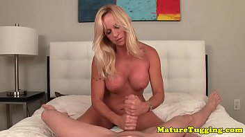 bigtitted light-haired mature fapping off rigid.