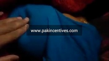 desi bhabi sleeping breast press