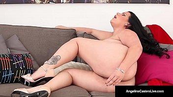 cuban angelina castro bates her cootchie amp_ blasts.