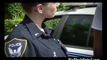 milky woman cops suckin dark-hued dink outdoors by.