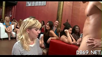 pretty sweetie gets romped in front of her mates