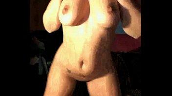 chica bailando desnuda