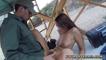 blondie ginormous bum and bosoms cop dark haired.