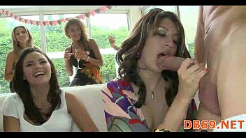 damsels go carzy for flogged juices