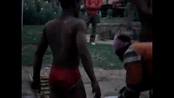 indian scorching builders bathing