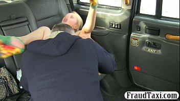 cab driver slips his spear in.