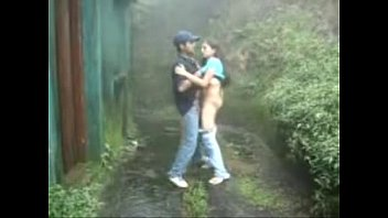 wwwindiangirlstk indian nymph inhaling and humping outdoors in rain