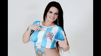 brown-haired argentine in cup with any.