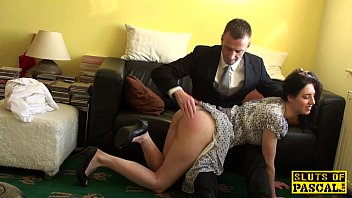 english gimp cockriding after getting spanked