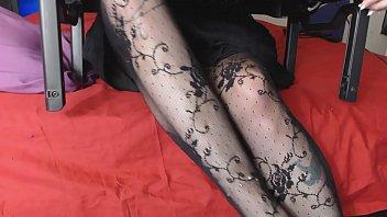 neglecting the stocking hidden cam stockings.