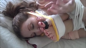 whitney morgan amp_ shauna ryanne are ball-gagged and.