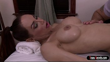 transsexual cougar sunday valentina inhales and analized by.