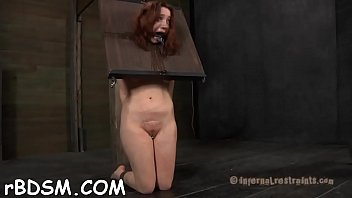stretching open slave039_s jizz-fuckhole
