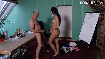 cute teenager office pummel