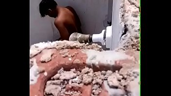 desi duo caught plumbing in shower