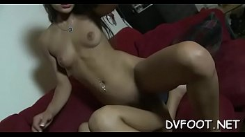 hottie foot gobbled and playing