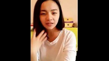 youthful chinese teenager showcasing her slick.
