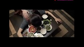 japanese wifey nailed on table by.
