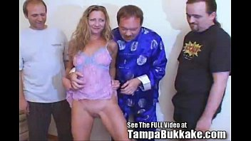 tramp wifey sherry039_s gang-penetrate tampa mass ejaculation slumber soiree