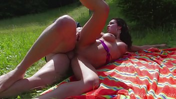 a brilliant picnic concludes in rock hard booty plowing
