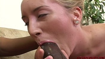 blondie gets pounded by gigantic balck.