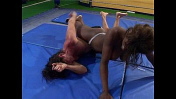 dangerous damsels trio - amazon039_s productions grappling - clipsforsale