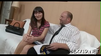sweetie is getting her cock-wringing salacious cleft porked energetically