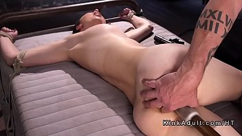 massive-chested marionette rectal and cunny disciplined