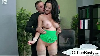 fuckfest in office with buxom mischievous ultra-cute lady.