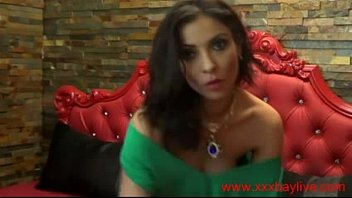 crimson-hot romanian web cam cougar plays with her.