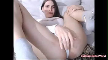 uber-cute t-girl frolicking with her self - witness.
