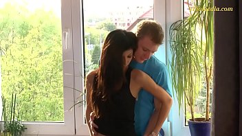youthfull teenager duo slender and taut