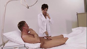 german nurse uniform polyclinic massive all-natural baps brown-haired.
