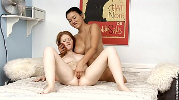 mischa and vika in a uber-cute girl-on-girl sequence.