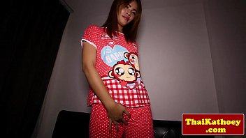 youthful thai t-model inserts plaything in.