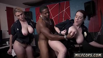 spandex cougar smoking and interracial inward cum-shot raw.