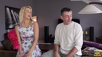 daddy4k very bad daddy with gf of his son-in-law