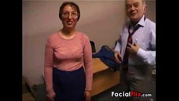 gross mature gal gets porked by an elderly fart