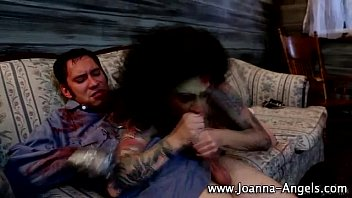 zombie punk joanna angel gargles on.
