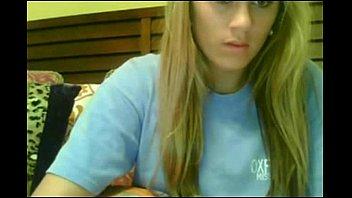 inexperienced hott ash-blonde have fun on web cam.