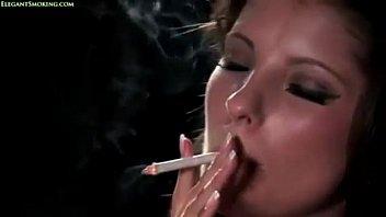 crimson-hot chick smoking eve 120