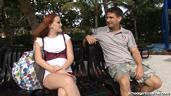 ultra-cute red-haired gets surprise inner pop-shot